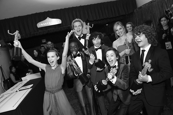 Noah Schnapp「The 23rd Annual Screen Actors Guild Awards - Media Complex」:写真・画像(5)[壁紙.com]