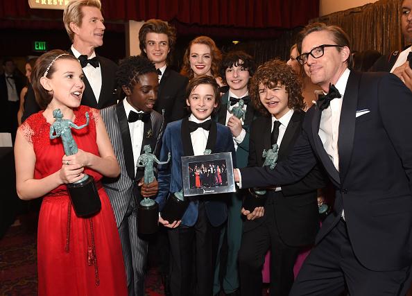 Noah Schnapp「The 23rd Annual Screen Actors Guild Awards - Media Complex」:写真・画像(8)[壁紙.com]