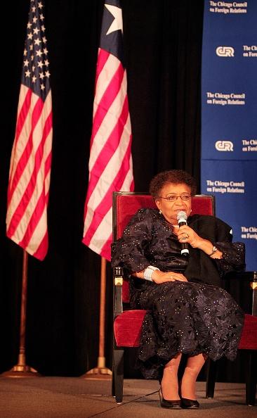 Scott Olson「Liberian President Ellen Johnson-Sirleaf Visits Chicago」:写真・画像(18)[壁紙.com]