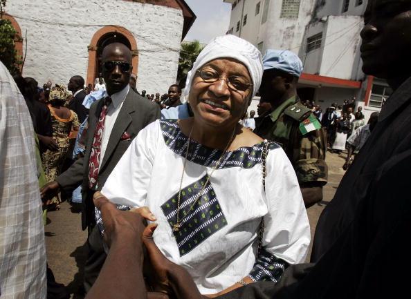 Methodist「Ellen Johnson Sirleaf Attends Church Services In Monrovia」:写真・画像(7)[壁紙.com]
