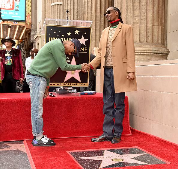 音楽「Snoop Dogg Honored With Star On The Hollywood Walk Of Fame」:写真・画像(5)[壁紙.com]