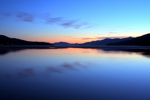 Adirondack Mountains「Lake George Dawn」:スマホ壁紙(5)
