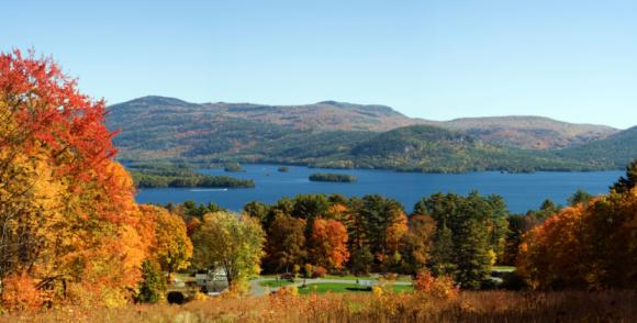 Adirondack Mountains「Lake George Autumn」:スマホ壁紙(4)