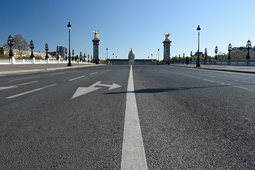 Boulevard「Pont Alexandre III in Paris, France」:スマホ壁紙(1)
