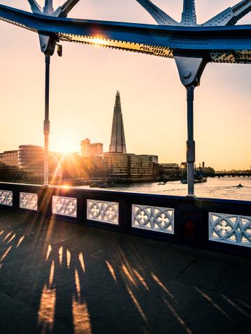 London Bridge - England「The Shard at sunset, London, UK」:スマホ壁紙(5)