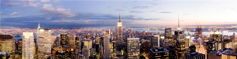 Broadway - Manhattan「New York Panorama」:スマホ壁紙(7)