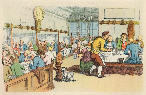 18th Century「Scene In A Coffee House」:写真・画像(1)[壁紙.com]