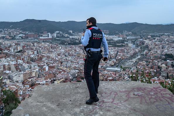 Spain「Dusk Over Barcelona Amidst The Coronavirus Pandemic」:写真・画像(12)[壁紙.com]