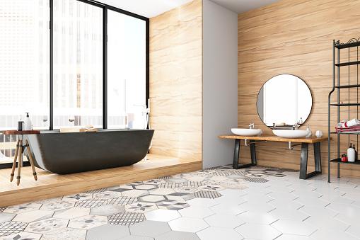 Relaxation「Modern Bathroom」:スマホ壁紙(15)