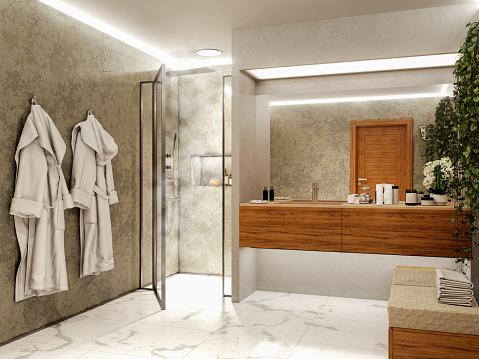 Easy Listening「Modern bathroom」:スマホ壁紙(6)