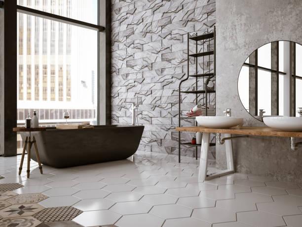 Modern Bathroom:スマホ壁紙(壁紙.com)