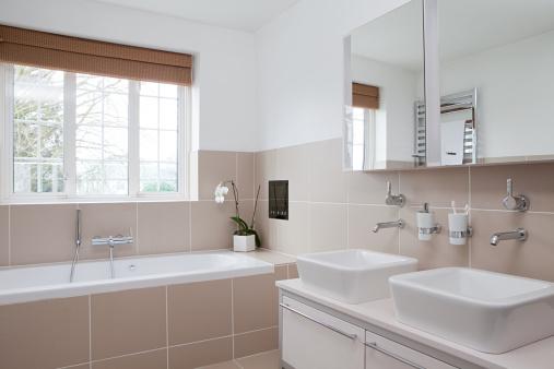 Manufactured Object「Modern bathroom」:スマホ壁紙(4)