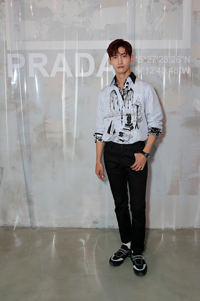 Prada「Prada - Arrivals & Front Row - Milan Men's Fashion Week Spring/Summer 2019」:写真・画像(3)[壁紙.com]