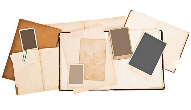 Scrapbook Background with Vintage Photos:スマホ壁紙(壁紙.com)