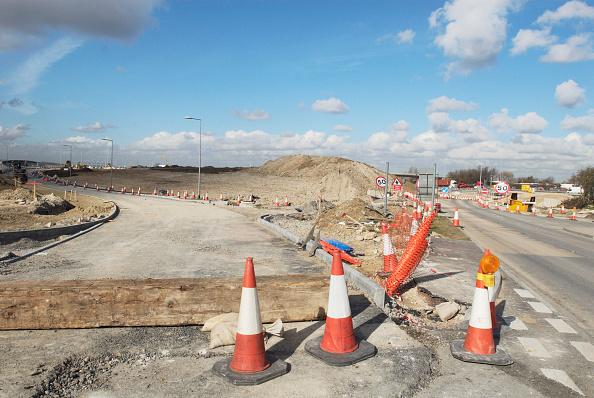 Finance and Economy「Junction upgrade of A2 near Bean, Kent, UK」:写真・画像(8)[壁紙.com]