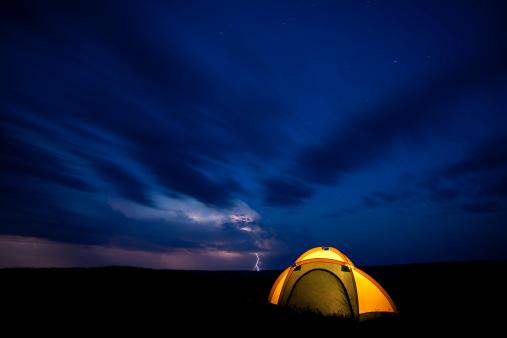 雷「Grasslands 国立公園」:スマホ壁紙(14)