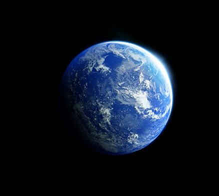 Pacific Ocean「Blue Earth from Space」:スマホ壁紙(8)