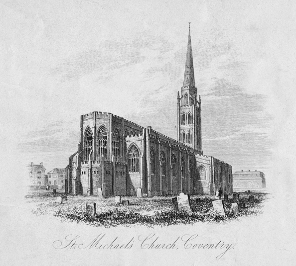 Anglican「Old Coventry Cathedral」:写真・画像(6)[壁紙.com]