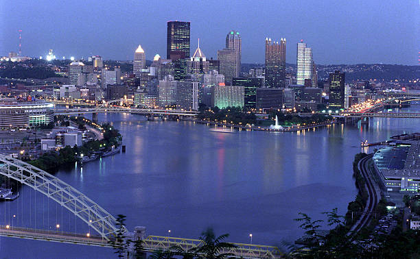 Pittsburgh Skyline At Dusk :ニュース(壁紙.com)
