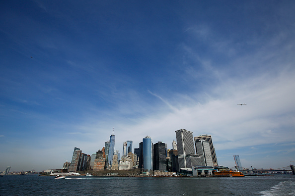 New York City「Mayor Bill De Blasio Announces Plan To Protect Lower Manhattan From Storms And Rising Seas」:写真・画像(19)[壁紙.com]