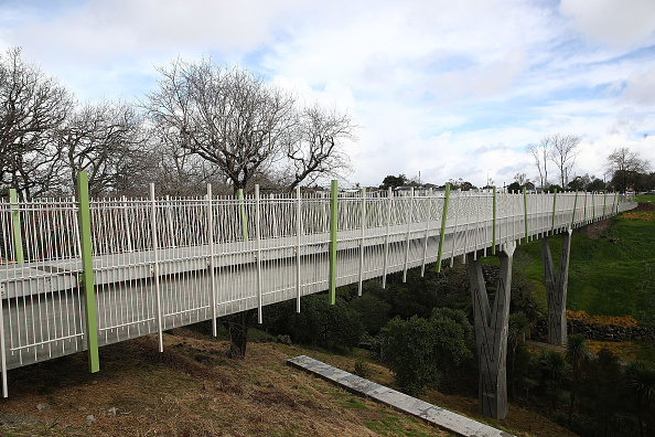 Transport Minister「Simon Bridges Attends Stage One Ribbon Cutting For The Waterview Shared Path Project」:写真・画像(19)[壁紙.com]