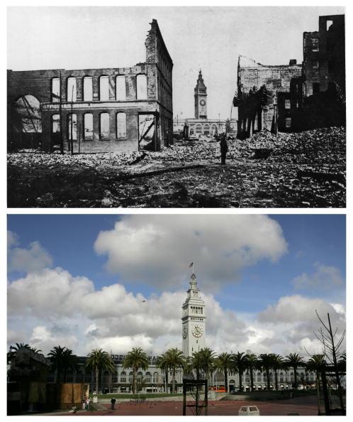 カリフォルニア州 サンフランシスコ「The 1906 San Francisco Earthquake: Then And Now」:写真・画像(11)[壁紙.com]