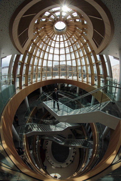 Christopher Furlong「Opening Of Liverpool Central Library」:写真・画像(1)[壁紙.com]