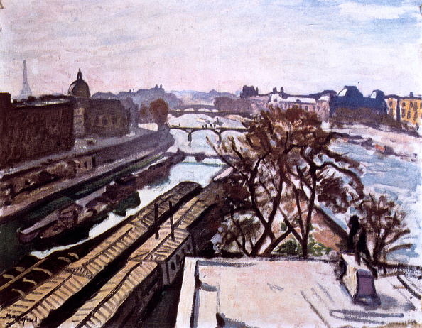 Sunny「View Of The Seine And The Monument To Henry Iv」:写真・画像(4)[壁紙.com]