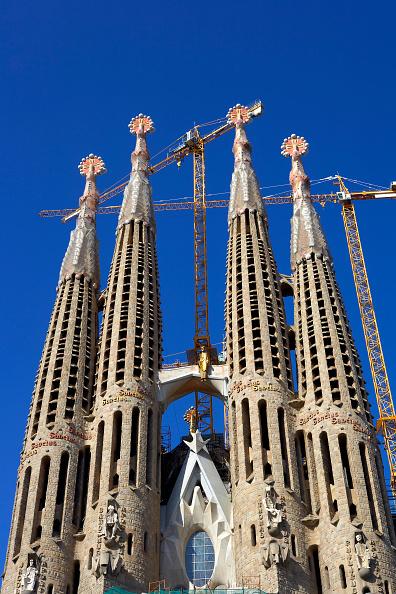 バシリカ「View of the Sagrada Familia cathedral」:写真・画像(19)[壁紙.com]