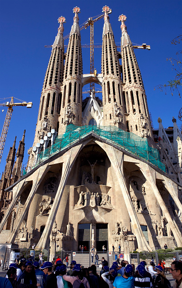 Sagrada Familia - Barcelona「View of the Sagrada Familia cathedral」:写真・画像(11)[壁紙.com]