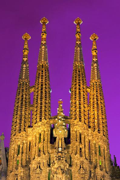 サグラダ・ファミリア「View of the Sagrada Familia cathedral」:写真・画像(11)[壁紙.com]