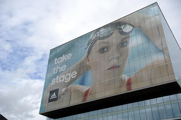 2012 Summer Olympics - London「adidas Paralympic Billboard at Stratford」:写真・画像(13)[壁紙.com]