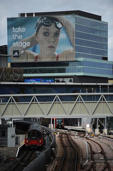 2012 Summer Olympics - London「adidas Paralympic Billboard at Stratford」:写真・画像(12)[壁紙.com]