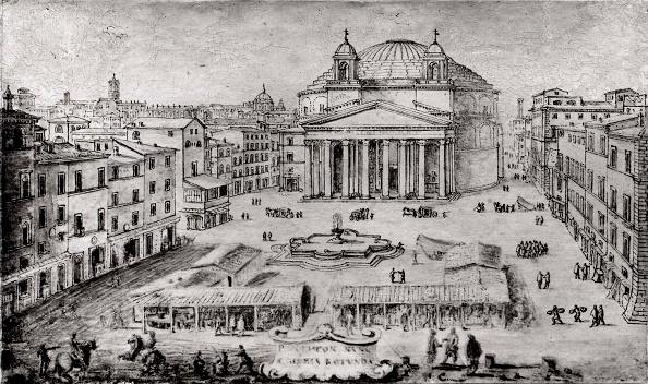 17th Century「View Of The Pantheon」:写真・画像(1)[壁紙.com]