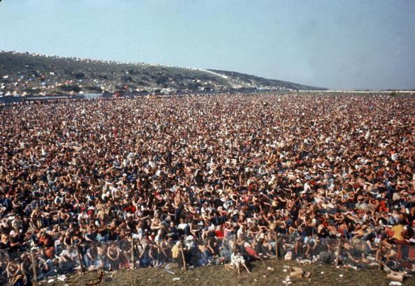 Crowd「Isle of Wight Festival 1970」:写真・画像(1)[壁紙.com]