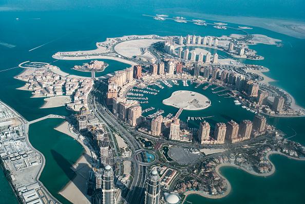 Qatar「Corniche road, Doha, Qatar.」:写真・画像(1)[壁紙.com]