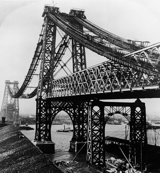 Construction Industry「Williamsburg Bridge Under Construction」:写真・画像(6)[壁紙.com]