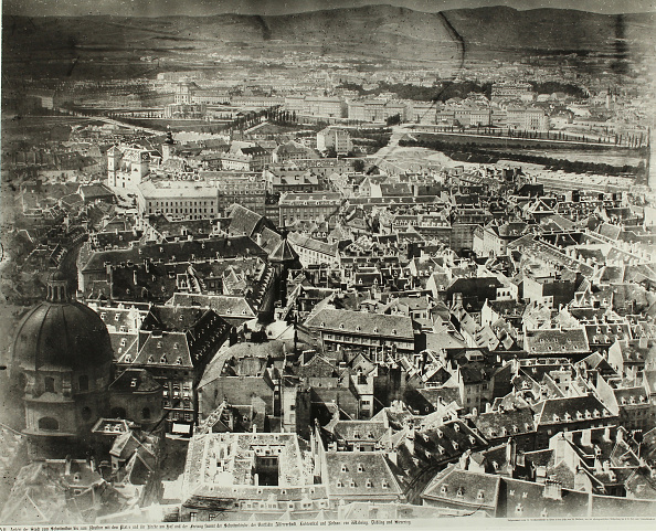Old Town「Seen From The Vienna Stephansdomturm From」:写真・画像(11)[壁紙.com]
