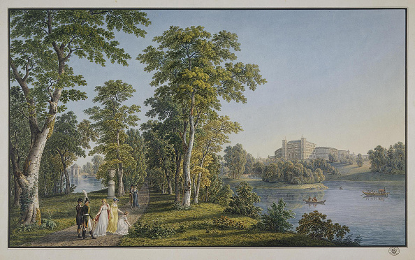 Etching「View of the Palace in Gatchina from the Park, 1753」:写真・画像(11)[壁紙.com]