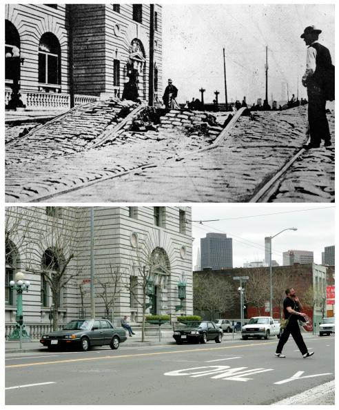 San Francisco - California「The1906 San Francisco Earthquake: Then And Now」:写真・画像(16)[壁紙.com]
