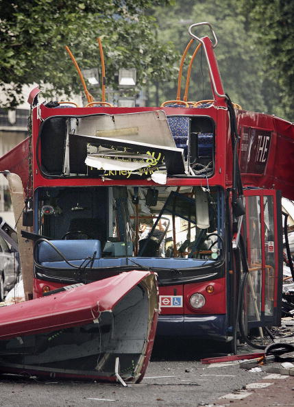 Bus「Forensic Evidence Is Gathered At Bomb Scene」:写真・画像(13)[壁紙.com]