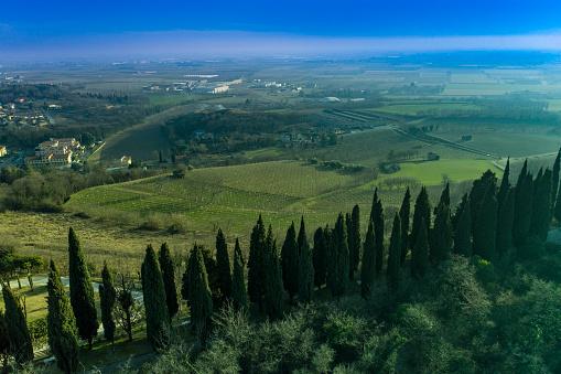 Battle「view of the hilly landscape of Solferino place of battle」:スマホ壁紙(17)