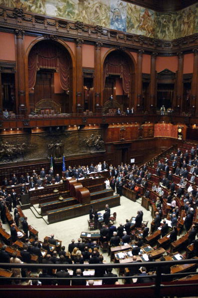 Parliament Building「Italian Parliament Re-opens In Rome」:写真・画像(7)[壁紙.com]