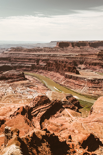 Colorado River「view of the red rock in canyonland」:スマホ壁紙(10)