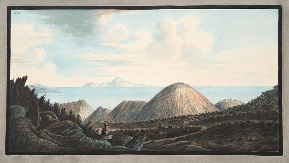 Volcanic Landscape「View Of The Present State Of The Little Mountain Raised By The Explosion In The Year 1760」:写真・画像(10)[壁紙.com]
