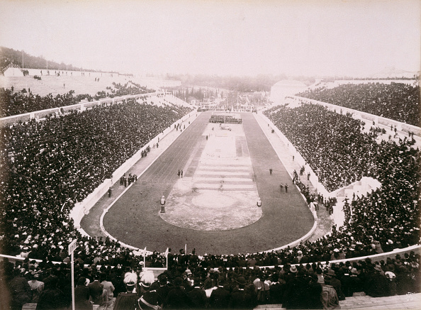 Athens - Greece「View Of The First Modern Olympic Games In Athens 1896」:写真・画像(8)[壁紙.com]