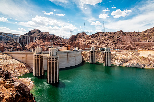 Generator「View of the Hoover Dam」:スマホ壁紙(1)