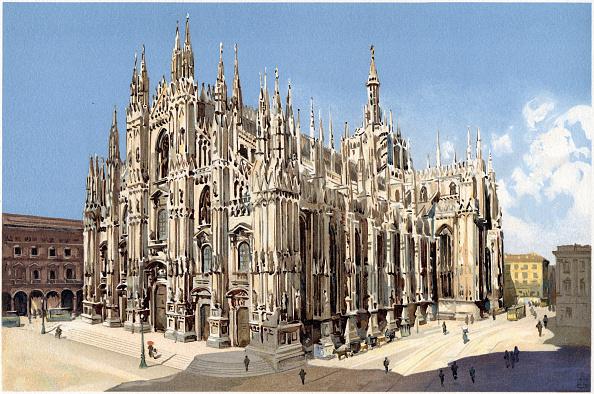 Gothic Style「Milan 19th Century」:写真・画像(18)[壁紙.com]
