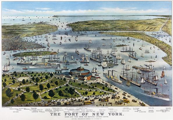 検疫「NEW YORK HARBOR 19TH CENTURY」:写真・画像(16)[壁紙.com]