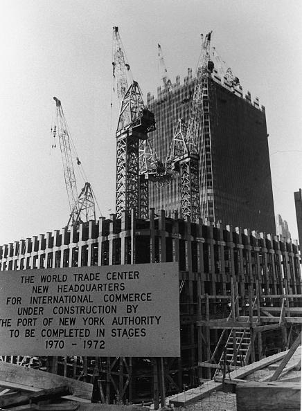 Construction Industry「World Trade Center Under Construction」:写真・画像(1)[壁紙.com]